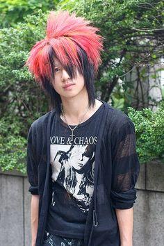 Japan Harajuku Hair Style