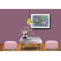 Zen decoration. Original Art. Pastel painting by Canis Art Studio.