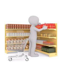 Shopping, White Male, 3D Model