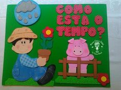 Painel Luigi, Kids Rugs, Preschool Ideas, Character, Home Decor, Teaching Supplies, Ideas, Weather, Good Manners