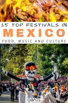 Heading for a trip to Mexico and want to hit up some festivals? Here are the 25 top festivals in Mexico! From eating delicious cuisine, enjoying music festival, to exploring its beautiful culture, and more! This guide will get you started! | #mexico #latinamerica #festivals Mexico Vacation, Cruise Vacation, Mexico Travel, Holidays To Mexico, Costa Maya, Mexico Food, Travel Route, Visit Mexico, Cabo San Lucas