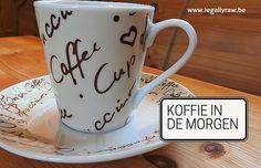 Ben jij zo iemand die zelfs zegt dat je zonder een eerste kopje koffie ECHT NIET op gang kan komen?  http://legallyraw.be/s-morgens-koffie-nodig-om-op-gang-te-komen/
