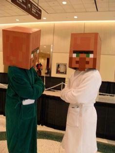 Minecraft Villager Costume