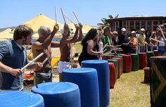 Junk Drumming Together! www.corporatebash.co.uk
