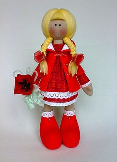 Кукла Снежка - мастер-класс37