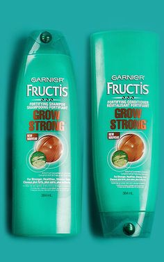 Get 10X stronger hair with the Grow Strong hair care range from Garnier Fructis. Discover more here!