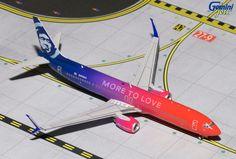 1/400 GeminiJets Alaska Airlines Boeing 737-900s Diecast Model