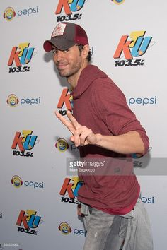 Singer Enrique Iglesias attends the 103.5 KTU's KTUphoria 2016 at Nikon at Jones Beach Theater on June 4, 2016 in Wantagh, New York.