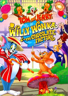 I grew up watching Tom and Jerry, and have since started watching it with my daughters. Tom and Jerry: Willy Wonka and the Chocolate Factory is so much fun! Willy Wonka Movie, Tom And Jerry Movies, Animated Cartoon Movies, Cartoon Cats, Tom Und Jerry, Wonka Chocolate Factory, Candy Factory, Disney Toms, Roald Dahl