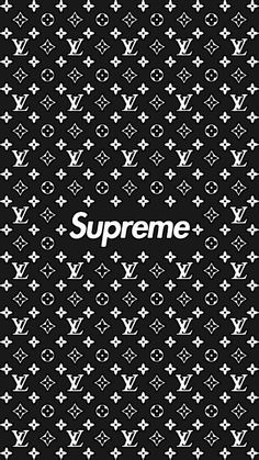 supreme×lv wallpaper HD quality