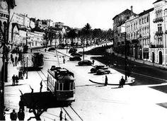 Avenida Sá da Bandeira Coimbra Portugal, Street View, Cbr, Times, Centre, Nostalgia, Vintage, Urban Design, World