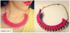 Para poner una nota de #color en tu look cada día!  Put a touch of #color every day with this necklace.