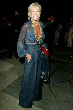 Nan Kempner - fashion icon