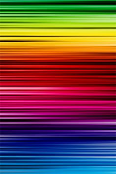 Rainbow Colour Bands iPhone Wallpaper