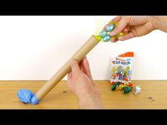 Een gevuld paasei maken met een ballon, draad, kleurstof, hobbylijm en water