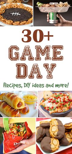 30 game day ideas that will score a touchdown with your guests!