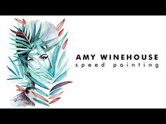 Hope you have a wonderful I am kicking off the new year with this Amy Winehouse painting done in tube watercolours and ink . Speed Paint, Amy Winehouse, Faber Castell, Watercolor And Ink, Watercolours, Jade, Youtube, Painting, Painting Art