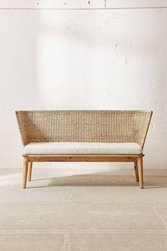 Slide View: 3: Jens Woven Windsor Sofa