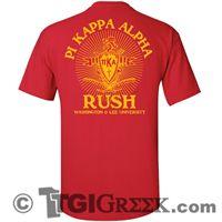 TGI Greek Tshirts - Pi Kappa Alpha - Rush Recruitment