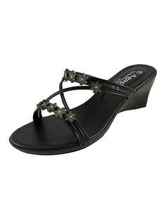 Love this Black Kitty Sandal on #zulily! #zulilyfinds