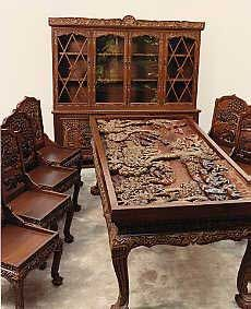 Hand Carved Vietnamese Furniture - Living Room Set | Minis ...