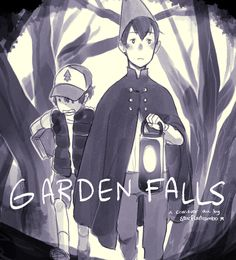 Over the Garden Wall/Gravity Falls crossover