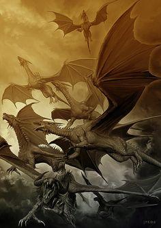 7 Dragons by Jan Patrik Krasny