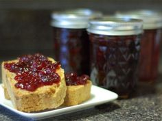 Cranberry-Champagne Jam with Ginger | Recipe | Champagne, A Jam and ...