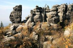 Znalezione obrazy dla zapytania góry stołowe Parc National, National Parks, Polish Mountains, Formations Rocheuses, Hiking Routes, Table Mountain, Historical Sites, Geology, Mount Rushmore