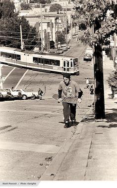 Thrasher Skateboard Magazine   The Descent: Hill-Bomb Photo Feature