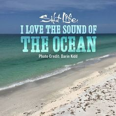 The sound of the ocean... #LiveTheSaltLife
