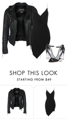 """""""Untitled #417"""" by antonela-475 on Polyvore featuring Topshop and Monique Lhuillier"""