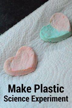 Milk & Vinegar Plastic Experiment For Kids