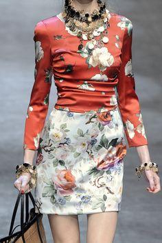 Dolce & Gabbana spring 2010 rtw details