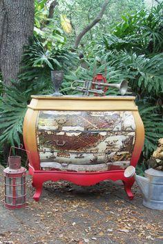 RESERVED New Orleans Bombay Chest. Rehabbed FurnitureFurniture RefinishingRepurposed  ...