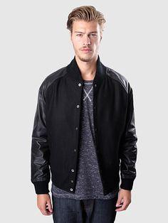 Selected Homme - Main Leather Jacket Black   FreshCotton.com