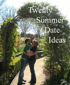Twenty Summer Date Ideas that don't have to be just with the hubby can be with the kids too~ Summer Bucket List