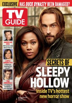 Secrets of Sleepy Hollow 1st TVGuide cover