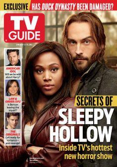 Secrets of Sleepy Hollow 1st TVGuide cover