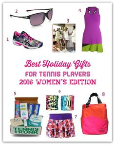 The holiday season is right around the corner and that can only mean one thing here at Tennis Fixation – it's time for my annual holiday gift guides! Each year, I work hard to f… Holiday Gift Guide, Holiday Fun, Holiday Gifts, Grandpa Birthday Gifts, Tennis Gifts, Tennis Fashion, I Work Hard, Significant Other, Tennis Players