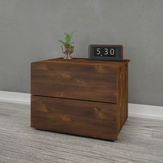 Found it at AllModern - Seeley 2 Drawer Nightstand