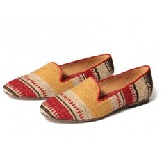 Bolero Red Multi - By Hudson Shoes