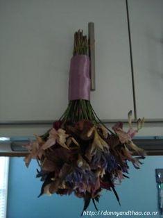 DIY wedding bouquet preservation