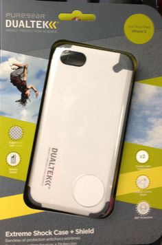 White and Grey DualTek Extreme Impact Case for iPhone 5  $29.99
