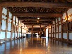 Inside of Japanese castle, Hiroshima-jo castle #Japanese castle