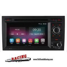 Consola Ordenador de a Bordo GPS DVD 2GB RAM 1024X600 Para Audi A4 S4 RS4 2002-2008 -- 324,53€