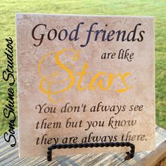 Items similar to Tile - Good Friends Are. on Etsy Tile Good Friends Are…. by sonshinestudios on Etsy Tile Projects, Vinyl Projects, Projects To Try, Ceramic Tile Crafts, Quilt Labels, Diy Coasters, Friends Are Like, General Crafts, Silhouette Cameo Projects