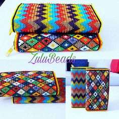 Ndebele beaded handmade clutch purse Beaded Clutch, Beaded Purses, Beaded Bags, Antelope Horns, Handmade Clutch, African Jewelry, Beading Projects, African Prints, Different Patterns