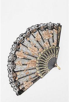 Urban Outfitters lace fan Nice fan...