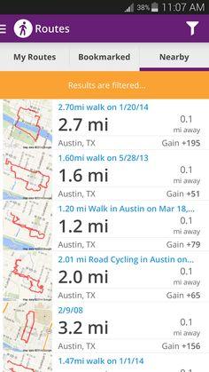 MapMyWalk Map My Walk App Pinterest - Map my distance